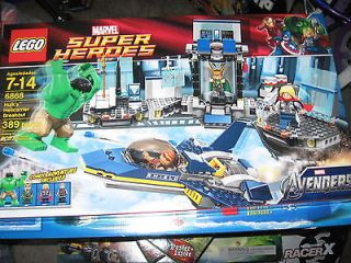 LEGO Marvel Super Heroes The Avengers Hulks Helicarrier Breakout