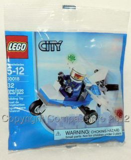 NEW Lego City Policeman & Police Airplane 30018 Microlight