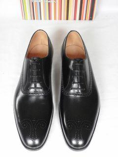 MTO Black Shoes By Crockett & Jones Handgrade UK 10 RARE RRP £440
