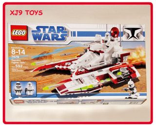 LEGO Star Wars Clone Trooper Republic Fighter Tank Set 7679 New in