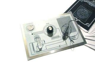 Rare Hieronymus Symbolic Machine Orgone Radionics + Flower of Life!