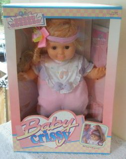 Newly listed BABY CRISSY DOLL IDEAL NURSERY 1989 N​IB NEVER OPENED
