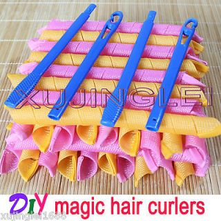 /55cm Hair Curlers Curlformers Spiral Ringlets Perm Leverage rollers