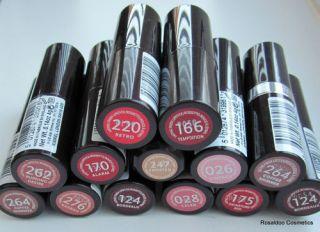 Rimmel Lasting Finish Lipstick   PLEASE SELECT YOUR SHADE  FULL SIZE