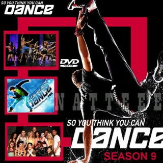 SO YOU THINK YOU CAN DANCE Complete Season 9 (US) DVD