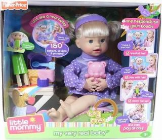 LITTLE MOMMY MY VERY REAL BABY DOLL Fisher Price NIP Caucasian