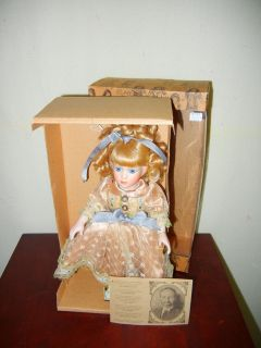 Louis Nichole Antique Porcelain collectable heirloom doll Little Girl