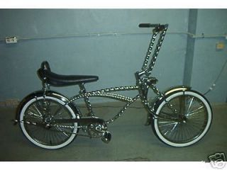 LOWRIDER BIKE BEAUTIFUL ALL TWISTED COMPLETE BICYCLE