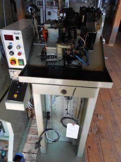 Fasti Triple Curb Chain Making Machine, Model GEF3VL6 W/ Laservall JL
