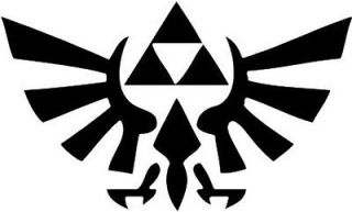 TRIFORCE ZELDA WINGS WINDOW/ WALL DECAL STICKER