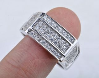 mens sterling silver rings in Rings
