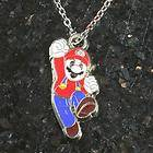 Super Mario Bros Brothers Pendant Necklace for Boys Birthday Party