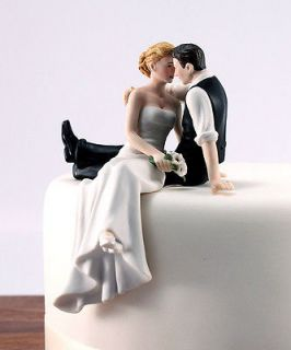 The  Look of Love Romantic Wedding Cake Topper Customize Hair Color