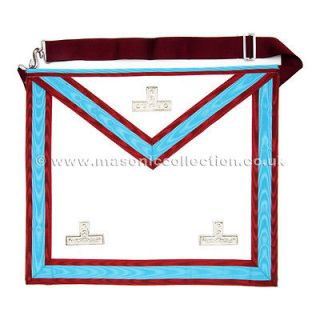 Brand New Masonic Mark Degree Worshipful Master Apron