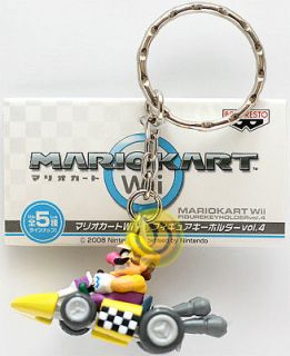 New Mario Kart Wii Keychains with Figure Vol. 4 Wario
