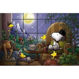 Apollo sha Jigsaw Puzzle 3 816 Peanuts Snoopy Moonlight (300 Pieces)