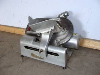 HEAVY DUTY COMMERCIAL GLOBE GRAVITY FEED 10D BLADE DELI MEAT SLICER