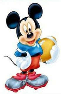15 Mickey mouse Kids Nursery decor Mural Wall decals home art