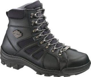 Mens Harley Davidson Broadmoor 6 Inch Motorcycle Steel Toe Boots