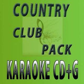 karaoke16 CD+G COUNTRY CLUB1,2+ NEW KURRENTS 2009 w/ Blake Shelton