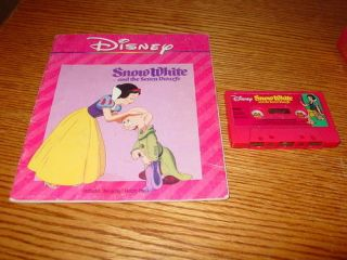 Walt Disney Snow White and the Seven Dwarfs Book + Tape