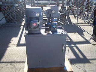 Hydro Systems 25 HP Hydraulic Power Unit W / 60 Gallon Tank