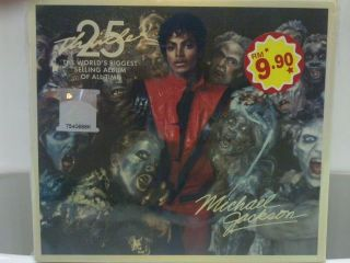 Michael Jackson 25th Anniversary Thriller Malaysia SP Edition CD DVD w