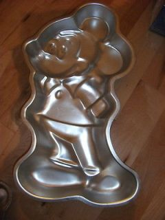 Walt Disney Mickey Mouse Cake Pan made by Wilton Enterprises copyright