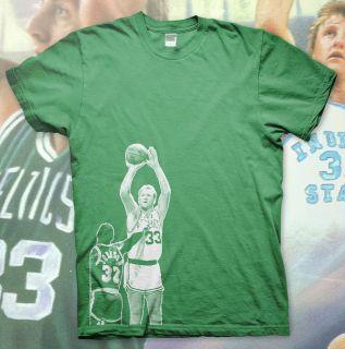 High Quality T Shirt BOSTON CELTICS 33 Basketball NBA Michael Jordan