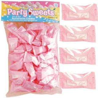 Baby Girl Buttermint Creams   Baby Shower Candy   2 Large Bags