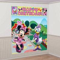 Minnie Mouse Birthday Party Scene Setters 5pc