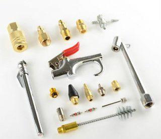 18 Pcs Air Accessory Kit Air Compressor Tools & Fittings Starter Kit