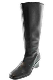 Karen Scott NEW Venice Black Wide Calf Wedge Mid Calf Boots Shoes 10