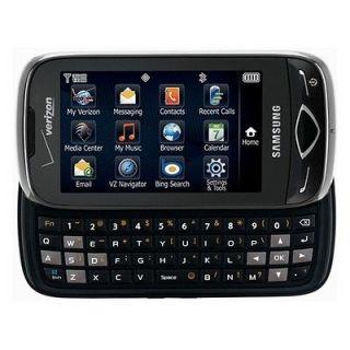 Verizon Samsung Reality SCH U370 Slider Cell Phone wtih Camera and
