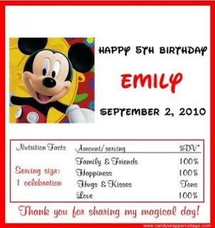 Mickey Mouse Personalized Birthday in Home & Garden