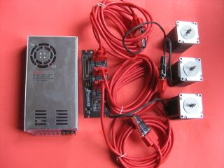 Axis Stepper Motor CNC Router / Mill Electronics Kit, Gecko G540