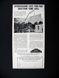 Glide All Sliding Doors Place Homes Prefab Houses house 1953 print Ad