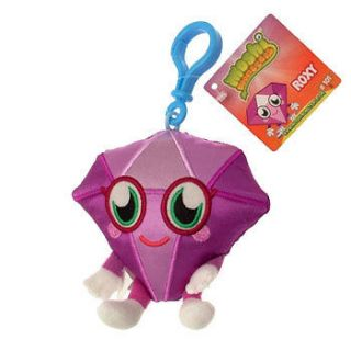 Monsters   Moshlings Plush Clips   ROXY #101 (4 inch)   Stuffed Animal