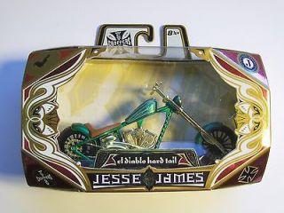 MOTORCYCLE JESSE JAMES WEST COAST CHOPPER MODEL DIECAST FREE SHIP AF