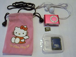 New HELLO KITTY  Player with 4GB TF card with SD adapter + USB