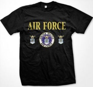 United States Air Force Mens T shirt Air Force Department Seal Armed