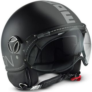 MOTORCYCLE HELMET JET MOMO DESIGN OPEN FACE MODEL FIGHTER CLASSIC 012
