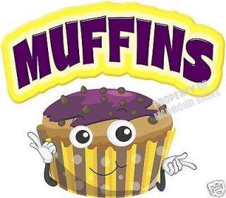 Muffins Pastries Restaurant Cart Concession Trailer Van Food Truck