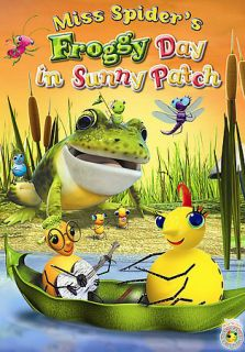 Miss Spiders Froggy Day in Sunny Patch (DVD, 2007)
