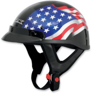 american flag motorcycle helmet in Helmets