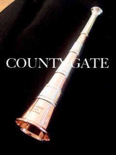 Fox hunting horn, beagling horn. Bellman 8 5/8 Monarch II. English