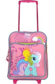 MY LITTLE PONY Trolley Pull Handle Backpack Rucksack Bag Age 2 4