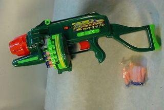 dart gun.Buzz Bee Toys Nerf TOMMY 20 Motorized . Air Blaster Dart Gun