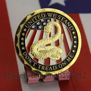 Navy / Dont Treat On Me / Military Challenge Coin 482