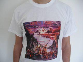 HEAVY LOAD Metal Conquest T Shirt Whiplash Iron Maiden